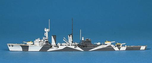 Navis Neptun T1042S KMS Koln, the German light cruiser in camouflage 1/1250