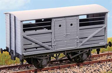 For over 100 years the cattle truck was an integral part of the British railway scene. Our model is of the standard LNER cattle truck (diagram 39) introduced in the 1920s and surviving into BR ownership.These finely moulded plastic wagon kits come complete with pin point axle wheels and bearingsGlue and paints are required to assemble and complete the model (not included)