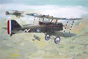 Roden Se5A With Hispano Suiza Engine WW1 Fighter Kit