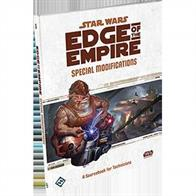 Special Modifications, a sourcebook for the Star Wars®: Edge of the Empire™ roleplaying game, brings new specializations and signature abilities to the Technician career. Its 96, full-color pages also include new playable species and copious amounts of gear including cybernetics, slicing tools, construction tools, and remotes. Finally, the book contains detailed guidelines for crafting devices, weapons, and droids of your own invention, as well as new slicing actions and expanded rules for running slicing encounters in your roleplaying adventures.