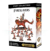 This is a great-value box set that gives you an immediate collection of fantastic Fyreslayer miniatures, which you can assemble and use right away in games of Warhammer Age of Sigmar!