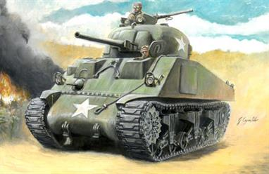 Italeri W15691 1/56 Scale Warlord Games WW2 US M4 Sherman 75mm TankA kit of the M4 Sherman tank with 75mm main gun for use alongside the Warlord Games 28mm range.Glue and paints are required to assemble and complete the model (not included)