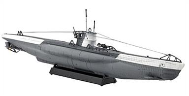 Revell 1/350 U-Boat Type VIIC Submarine Kit 05093Number of parts 29 Model Length 192mmGlue and paints are required