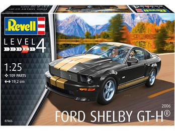 Revell 07665 Shelby GT-H 2006 Muscle Car Model Kit