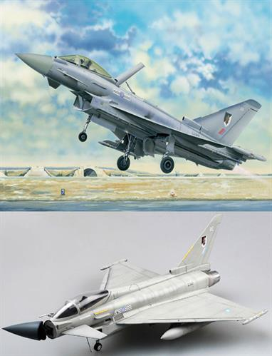Trumpeter 02278 1/32 Scale Eurofighter Typhoon EF2000 Modern Nato Fighter BomberGlue and paints are required