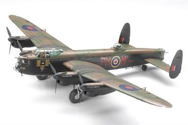 Tamiya 1/48 Avro Lancaster Bomber Mk1/MkIII Aircraft Kit 61112Glue and paints are required