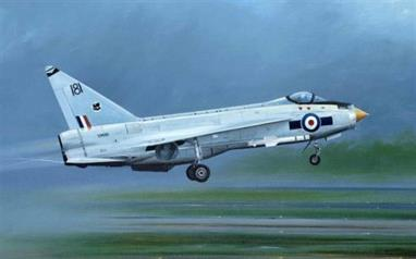 Trumpeter 01634 1/72 Scale English Electric Lightning F1A/F2 British Jet Fighter Kit
