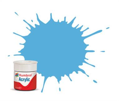 Humbrol 47 Sea Blue Gloss14ml Acrylic Paint A12/47