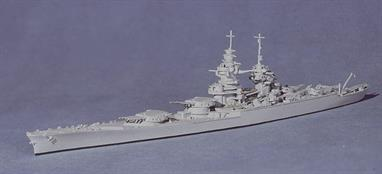 Model 1402 represents Richelieu after it had been refitted in the USA and in service with the Allies..