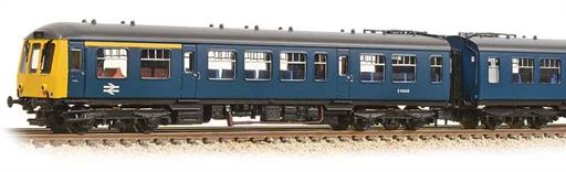 Graham Farish 371-885A BR Class 108 3-Car DMU Plain Blue Livery N