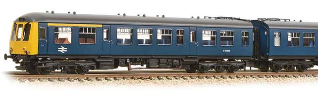 A new N gauge DMU is particularly welcome and the BR Derby design class 108 is certainly a good choice as these units worked in most areas of Britain.This 3-car unit is painted in the corporate��blue livery of the 1970s. DCC Ready. 6-pin decoder required for DCC operation.
