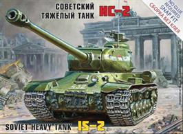 Zvezda 5011 1/72 Scale Soviet Heavy tank IS-2Snap Fit Kit No Glue Required