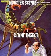 Moebius Monster Scenes Giant Insect  643Glue and paints are required