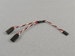 Y lead for connecting servos with Futaba type connections.
