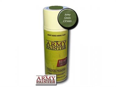 Army Painter 3005 400ml Spray Can of Army Green Primer.