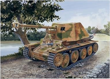 Italeri 7060 1/72 Scale German 139 Panzerjager Marder III AUSF.HDimensions - Length 81mm.The kit comes complete with decals and full assembly instructions. Glue and paints are required to assemble and complete the model (not included)