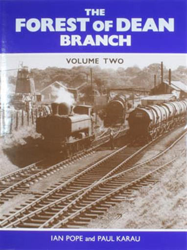 Written by Ian Pope and Paul Karau this two-volume series provides an excellent record of the Great Westerns' Forest of Dean branches.Volume two covers the branches in the Forest of Dean, starting with the Churchway branch from Bilson on the Cinderford line. Next the Whimsey branch is covered, including the interesting goods yard at Whimsey, later the site of Berry Wiggins depot and the Admiratly use of the Hawthorns tunnel during WW2.