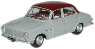Oxford Diecast 1/76 Vauxhall FB Victor Venetian Red & Gull Grey 76FB001