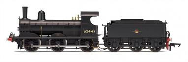 Hornby R3232 00 Gauge BR(E) J15 Class ex-GER 0-6-0 Small Goods Engine BR Black Late CrestDimensions - Length 218mm.A new detailed model of the LNER class J15 0-6-0 goods engines.DCC Type: DCC Ready