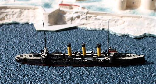 Rhenania GLR3a Oleg Russian Cruiser from the Russo-Japanese War 1/1250