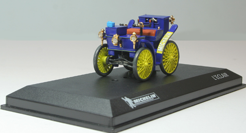 MAG 1/43 Michelin Peugeot L'Eclair 1898 First Car on Pneumatic Tyres M053L