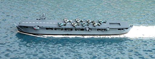 Navis Neptun 1126 Empire Macrae, a Merchant Aircraft Carrier, 1943 1/1250