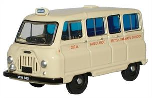 Oxford Diecast 1/76 Morris J2 Ambulance British Railways 76JM019