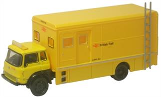 Oxford Diecast 1/76 Bedford TK Mobile Workshop British Rail 76TK014Bedford TK Mobile Workshop British Rail