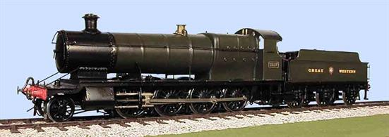 Slaters Plastikard 7L002 O Gauge GWR 28xx 2-8-0 Curved Frame Loco & 3500 Tender Etched Brass kit and includes wheels and Spur Drive Gearbox and Motor 7L001