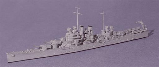 Navis Neptun 1332 USS Wichita, Heavy Cruiser that served with the RN in the Atlantic, 1942 1/1250