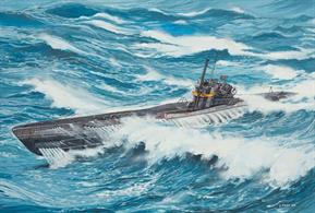 Revell 1/144 U Boat Type VIIC/41 German WW2 Submarine 05100Number of parts 107.Model Length 467mmGlue and paints are required