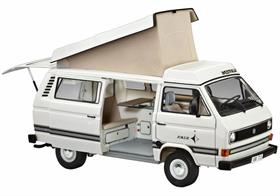 Revell 1/24 VW T3 Westfalia Joker Camper Van Number of Parts 80   Length 185mm