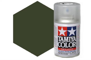 Tamiya AS Spray paint, much like the TS Sprays, are meant for plastic models. These spray paints are specially developed for finishing aircraft models. Each color is formulated to provide the authentic tone to 1/32 and 1/48 scale model aircraft. now, the subtle shades can be easily obtained on your models by simple spraying. Each can contains 100ml of synthetic lacquer paint.This paint was designed especially to allow you to achieve a realistic finish on your 1/32 scale Supermarine Spitfire Mk. IXC (Item 60319).