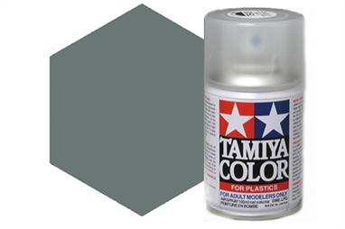 Tamiya AS31 Ocean Grey 2 RAF Synthetic Lacquer Spray Paint 100ml AS-31Tamiya AS Spray paint, much like the TS Sprays, are meant for plastic models. These spray paints are specially developed for finishing aircraft models. Each color is formulated to provide the authentic tone to 1/32 and 1/48 scale model aircraft. now, the subtle shades can be easily obtained on your models by simple spraying. Each can contains 100ml of synthetic lacquer paint.This paint was designed especially to allow you to achieve a realistic finish on your 1/32 scale Supermarine Spitfire Mk. IXC (Item 60319).