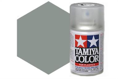Tamiya AS32 Medium Sea Grey 2 RAF Synthetic Lacquer Spray Paint 100ml AS-32Tamiya AS Spray paint, much like the TS Sprays, are meant for plastic models. These spray paints are specially developed for finishing aircraft models. Each color is formulated to provide the authentic tone to 1/32 and 1/48 scale model aircraft. now, the subtle shades can be easily obtained on your models by simple spraying. Each can contains 100ml of synthetic lacquer paint.This paint was designed especially to allow you to achieve a realistic finish on your 1/32 scale Supermarine Spitfire Mk. IXC (Item 60319).