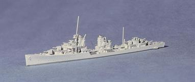 "Most German Destroyers were numbered and not named. However, these Super Destroyers were named: Z14 Friedrich Ihn, Z15 Erich Steinbrinck & Z16 Friedrich Eckoldt.There is also a light grey secondhand model with an original box for £20. Ask for ""Secondhand Model"" on order form."