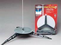Estes Porta-Pad E Launch Pad ES2238<br>Quick to build as there's no glue or tools required. Includes a 6mm launch rod and safety cap. Porta Pad II can accept a 5mm Maxi Launch Rod (D-ES2244) - not included. You must be 18 years or older to launch rockets using E rocket motors.