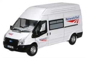 Oxford Diecast 1/76 Ford Transit Network Rail 76FT005