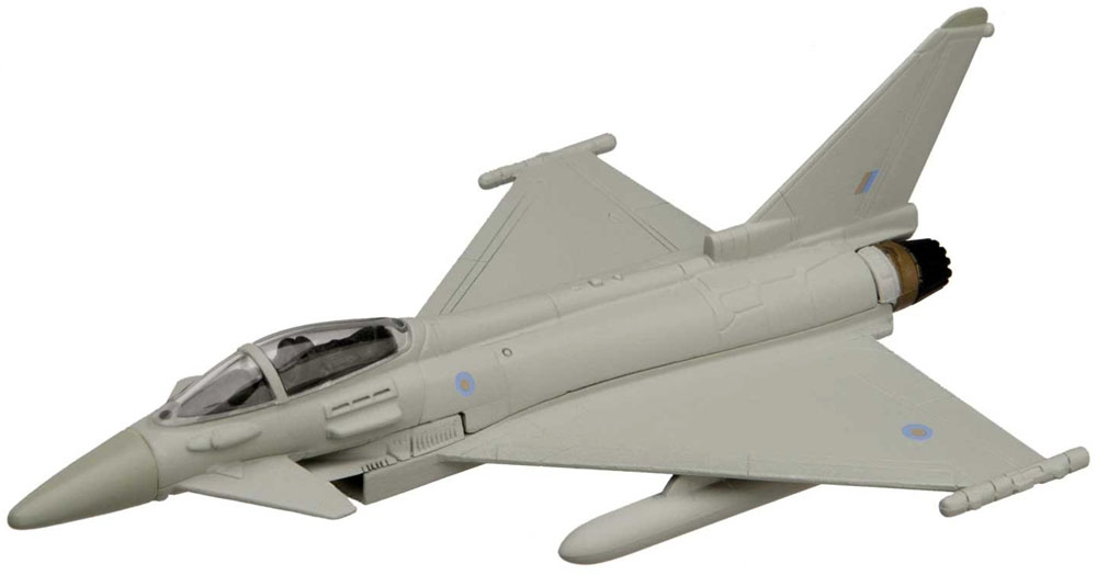 "Eurofighter Typhoon from the Showcase Collection CS90622 Eurofighter  is a quality die-cast model aircraft suitable for the younger collector. Wingspan 82mm<br><span class=""yui-non""> </span>"