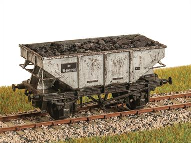 A detailed model kit of the British Railways all-steel welded construction 13 ton hopper wagons, based on an LNER design and representing diagrams 1/142 and 1/144. Built in the early 1950s the last of these unfitted wagons were withdrawn circa 1980.