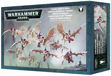 This box set contains 10 multi-part plastic Tyranid Gargoyles. Models supplied with small flying bases.