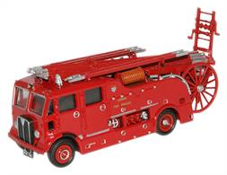 Oxford Diecast 1/76 London Fire Brigade AEC Regent III/Merryweather Fire Engine 76REG001