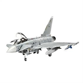 Revell 1/144 Eurofighter Typhoon Single Seater 04282Length 111mmNumber of parts 63Wingspan 76mmGlue and paints are required