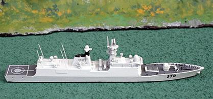 One of a class of four frigates. Huangshan's pennant number is 570
