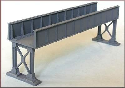 Knightwing N Plate Girder Bridge 6 5in Metal Supports PN11