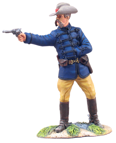 W Britain British Lt Colonel Anthony Durnford RE<p>Colonel Durnford bravely stands alongside his men Continually firing until all the ammunition was spent and then using knives as their only weapons before he and his troops were massacred</p><p>1/30 Scale</p><p>Matt Finish</p>