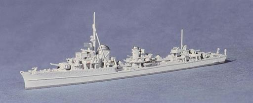 Navis Neptun 1061B Z39 a German Super Destroyer with twin turret forward 1/1250