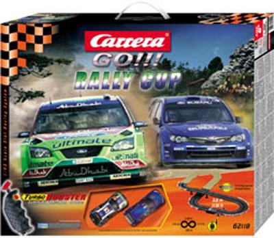 carrera go rally cup mini slot car racing set 1 43 62118. Black Bedroom Furniture Sets. Home Design Ideas
