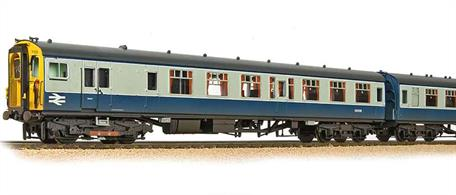 A very well detailed model of the British Railways Southern region third rail 4CEP electric unit train, TOPS class 411.These trains were built in the late 1950s using the British Railways Mk.1 coach body design for express services over the steadily expanding network of electrified routes. Refurbished in the 1980s these trains ran until the early 2000s before finally being replaced by newer designs.The Bachmann model features accurately reproduced bodyshells modelling the original configuration of the 4CEP trains with many finely reproduced and separately fitted detail parts. The train is driven by a heavy motor bogie concealled within one of the guards' van ends with through wiring to connect directionally controlled lighting circuits.This model is finished in Britisn Rail corporate blue and grey livery, applied from the mid 1960s.Eras 6-7. DCC Ready, 21 pin decoder required for DCC operation. Directional lighting. Internal lighting. Length 1070mm.
