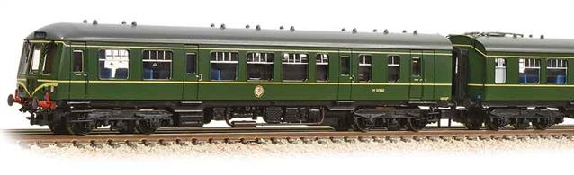 A new N gauge DMU is particularly welcome and the BR Derby design class 108 is certainly a good choice as these units worked in most areas of Britain.This 2-car unit is painted in the early DMU green livery with nose end speed whiskers. DCC Ready. 6-pin decoder required for DCC operation.